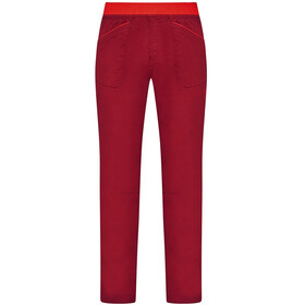 La Sportiva Roots Broek Heren, chili/poppy